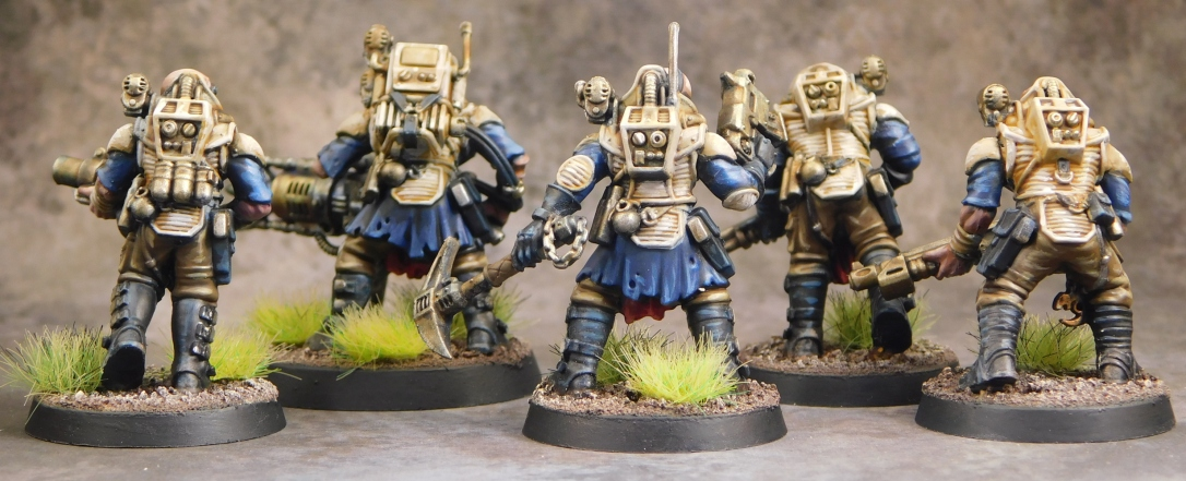 Neophyte Hybrids from Games Workshop Warhammer 40,000 – K C